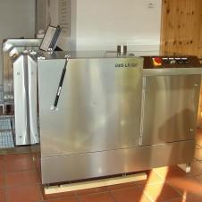 Automatische Lötrahmen-Schablonen–Reinigungsanlage GMS LR 500