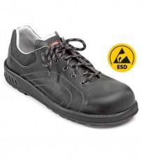 Sicherheits-Halbschuh schwarz S2 - extra breit