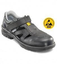 Sicherheits-Sandale schwarz S1, ESD