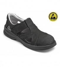 Damen-Sandale schwarz EN345-1 S1