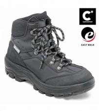 Damen-Knöchelschuh, schwarz EN ISO 20345 S3