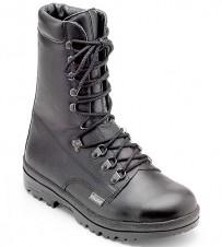 Military Sicherheitsstiefel, Leder, schwarz