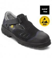 ESD-Sicherheits-Sandale Kunststoffkappe